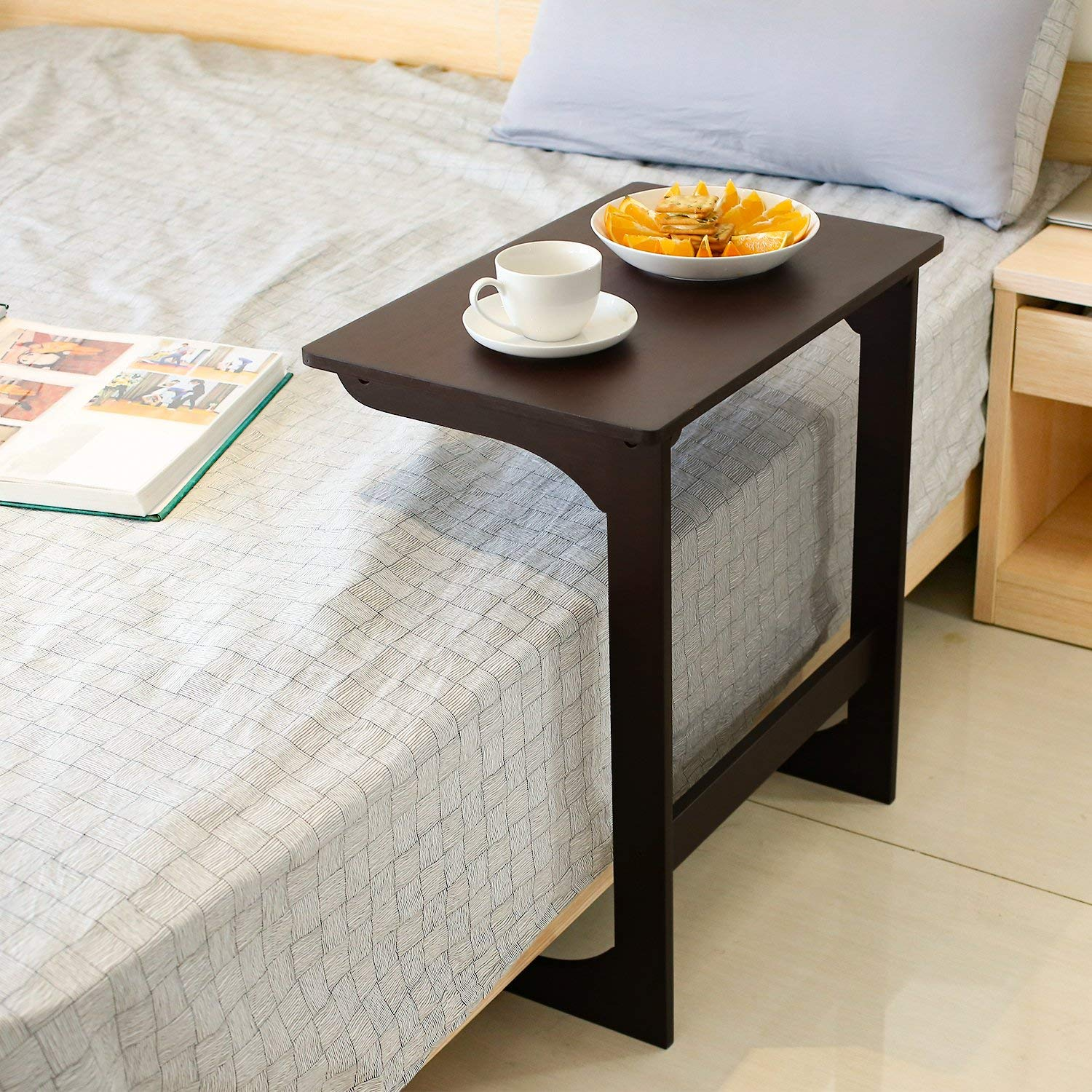Bamboo-Coffee-Laptop-Modern-Furniture For Bed